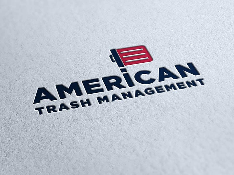 american trash management logo