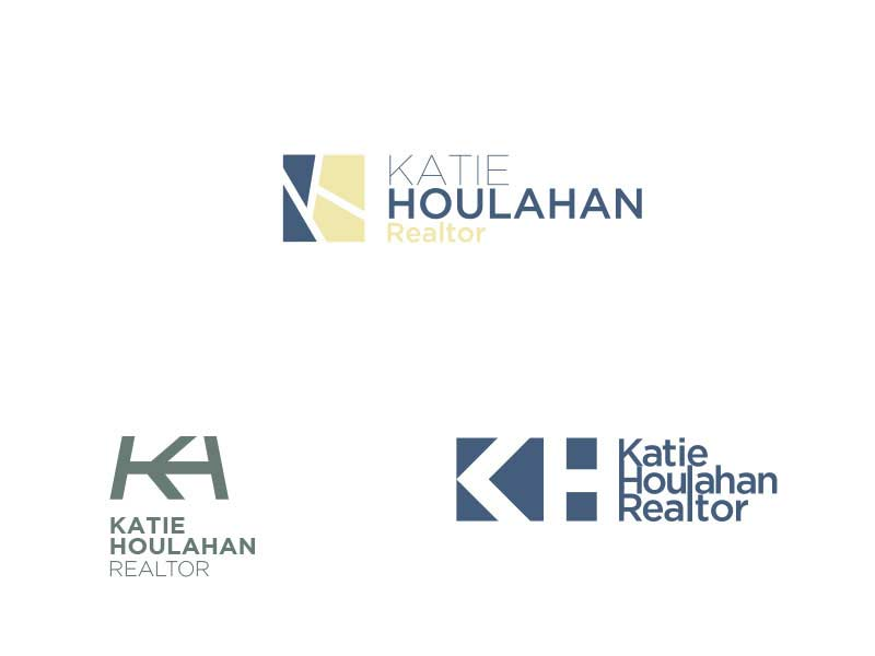 Logo Concepts for Katie Houlahan Realtor - Laguna Beach