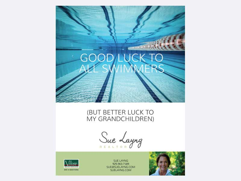 Realtor Brand advertising for Sue Layng